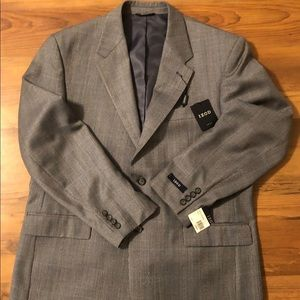 Izod Wool 2 Button Blazer Sport Coat Jacket